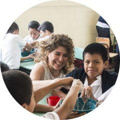 Gabriela García, directora de Glasswing Guatemala.