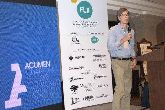 Por su parte, Virgilio Barco, director para Latinoamérica de Acumen, disertó sobre las perspectivas para la inversión de impacto en Centroamérica.