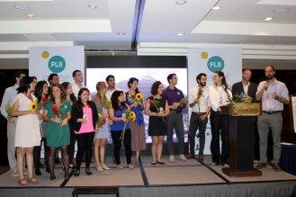Equipo de Alterna, organizador del FLII - edición centroamericana.
